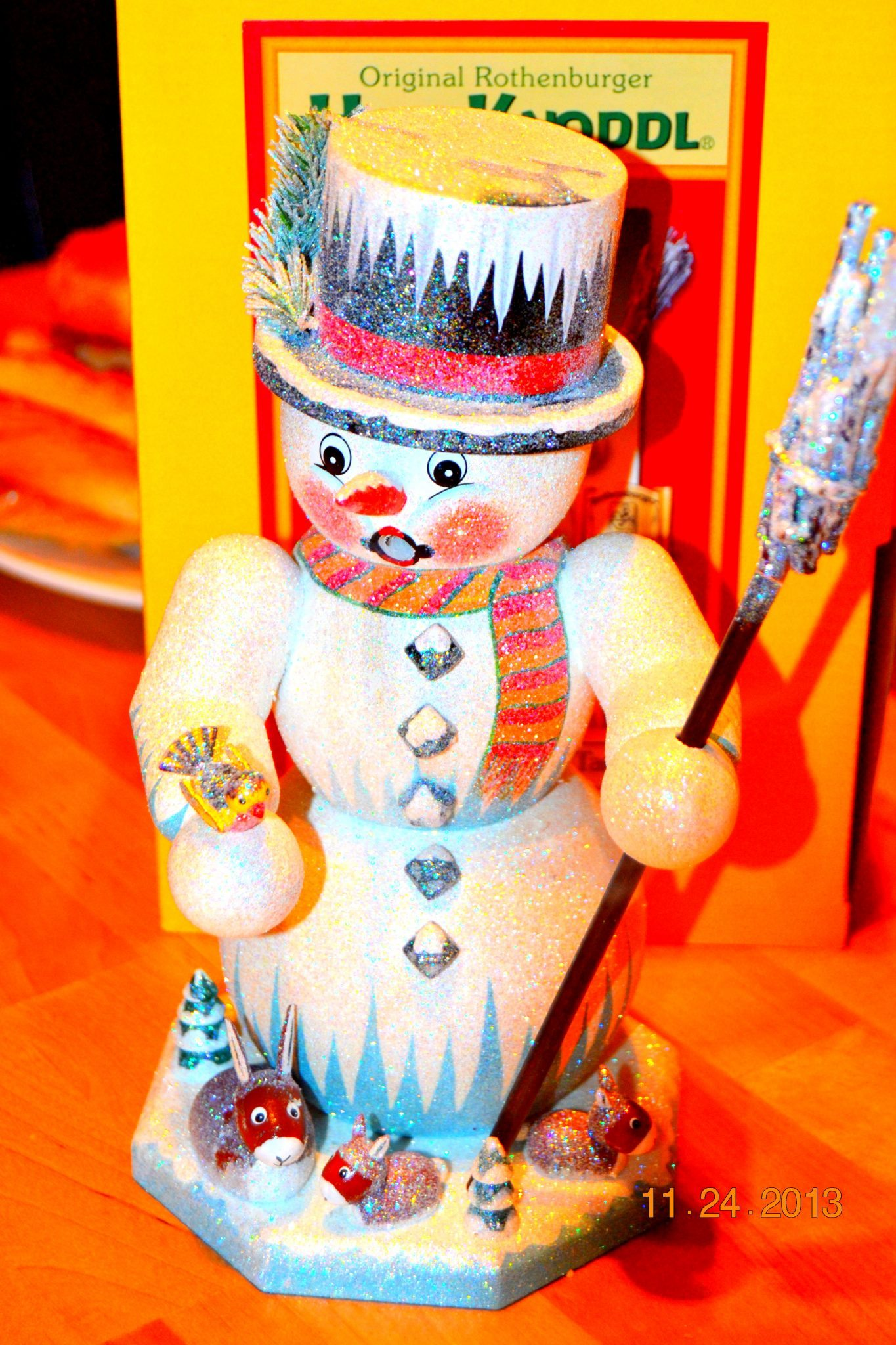 My Snowman Smoker I had to have him!