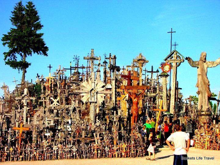 Hill of Crosses Haunted Hill of Crosses Lithuania
