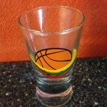 Shot glass drink like a german baskets life travel