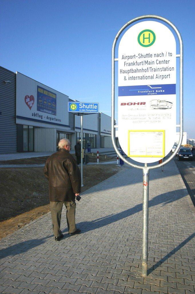 frankfurt hahn bus stop