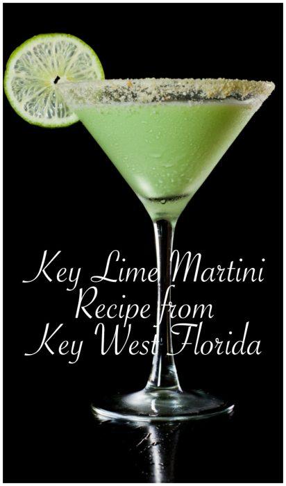 Key Lime Pie Martini Recipe From Key West Florida