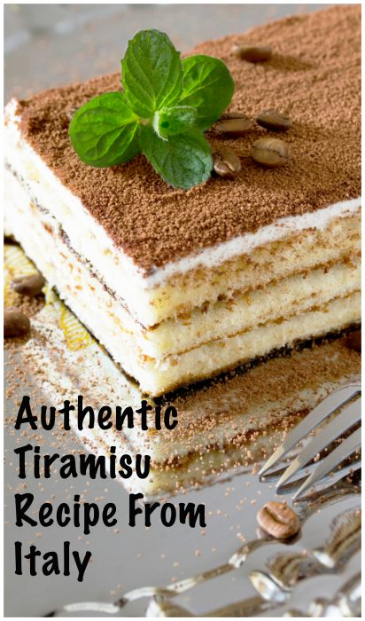 An Incredible And Authentic Tiramisu Recipe From Italy
